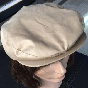 Vintage Mens Cabbie Driving Cap Hat Newsboy